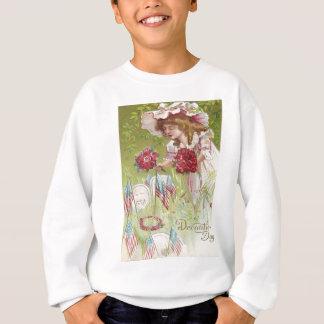 US-Flaggen-KinderRosen-GrabsteinGraveyard Sweatshirt