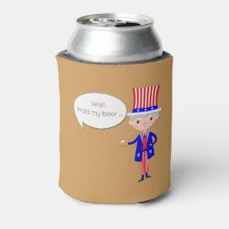 US: Halten Sie mein Bier • Trumpf • Dosenkühler