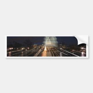 US-Hauptstadt, die WeihnachtsFoto feiert Autoaufkleber