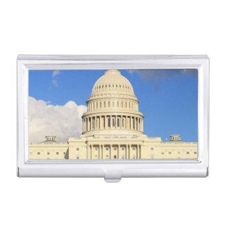US-Hauptstadts-Gebäude, Washington DC, USA Visitenkarten Etui