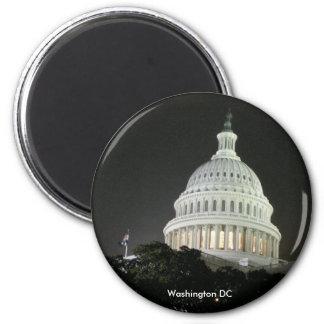 US-Hauptstadts-Magnet Runder Magnet 5,7 Cm