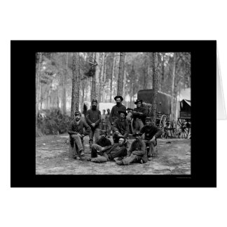 US-Ingenieur-Bataillon 1864 Karte