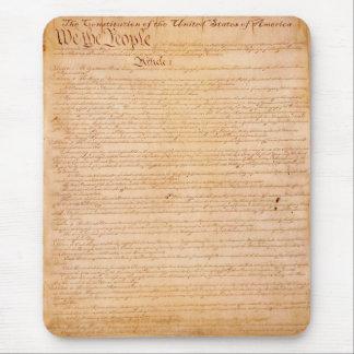 US-KONSTITUTION amerikanische Geschichte Mousepad