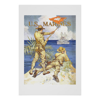 US-Marinesoldaten Poster