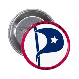 US-Piraten-Party Anstecknadelbutton