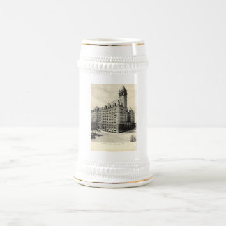 US-Post-Washington DC 1907 Vintag Bierkrug