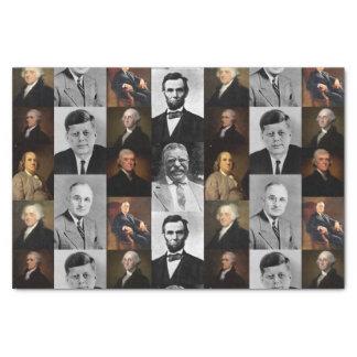 US Präsidenten Plus Hamilton und Seidenpapier