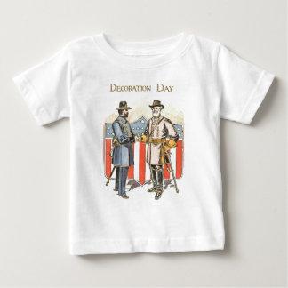 US-Schild-Gewerkschafts-verbündeter Soldat Baby T-shirt