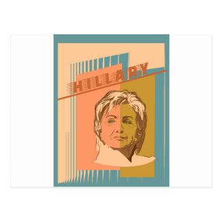 US Senator Hillary Rodham Clinton Postkarte