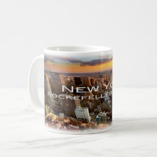 US USA - New York - Rockefeller-Mitte - Kaffeetasse