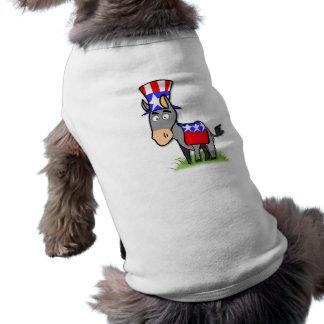 US-Wahl-Demokrat-Haustier-Shirt Shirt