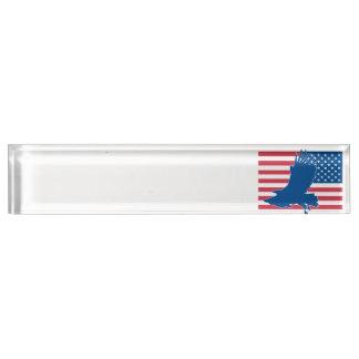 USA-Adler Schreibtischplakette