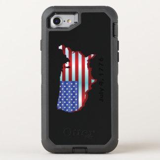 USA am 4. Juli 1776 OtterBox Defender iPhone 8/7 Hülle