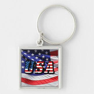USA - Amerikanische Flagge Schlüsselanhänger