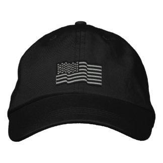 USA-amerikanische Flagge spielt 'gestickte Kappe n Bestickte Kappe