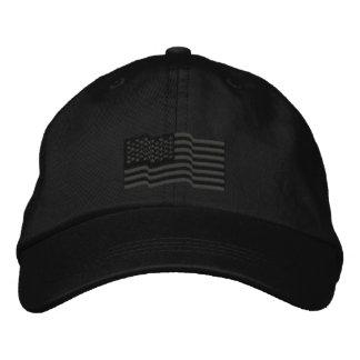 USA-amerikanische Flagge spielt 'gestickte Kappe n Besticktes Cap