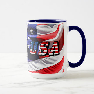 USA - Amerikanische Flagge Tasse