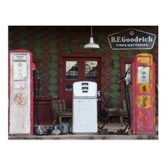 USA, Arizona. Chlorverbindungs-Geisterstadt, altes Postkarte