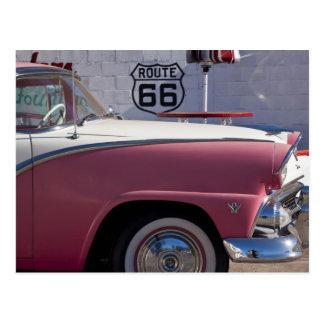 USA, Arizona, Williams. Funktelegrafie. 66 Stadt, Postkarte