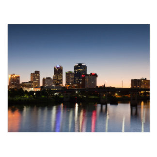 USA, Arkansas, Little Rock, Stadt-Skyline Postkarte