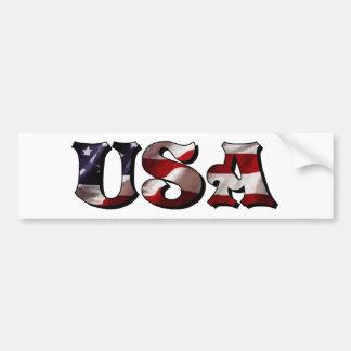 USA AUTOAUFKLEBER