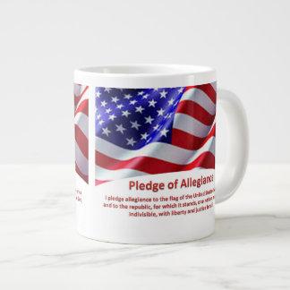 USA-Bürgschaft der Jumbo-Tasse
