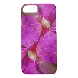 USA, Colorado, Boulder. Clematis-Blume Montage iPhone 8/7 Hülle
