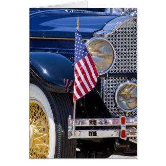 USA, Colorado, Frisco. Vintages Packard Auto Karte