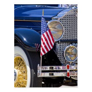 USA, Colorado, Frisco. Vintages Packard Auto Postkarte