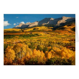 USA, Colorado, Gunnison staatlicher Wald Karte