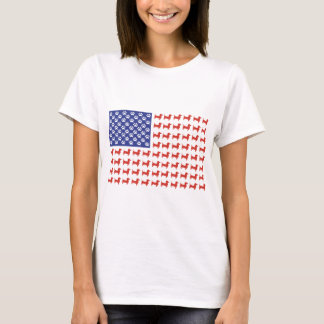 USA-Dackel T-Shirt