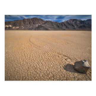 USA, Death Valley, Felsen auf Playa Postkarte