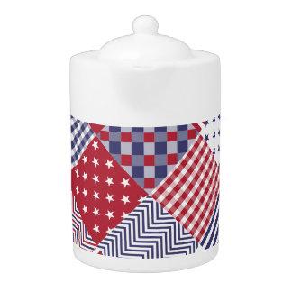 USA diagonale rote weiße u. blaue