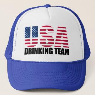 USA, die Team trinken Truckerkappe