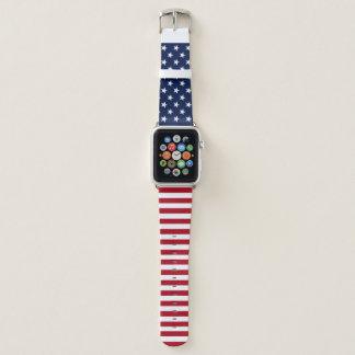 USA-Flagge Apple Watch Armband
