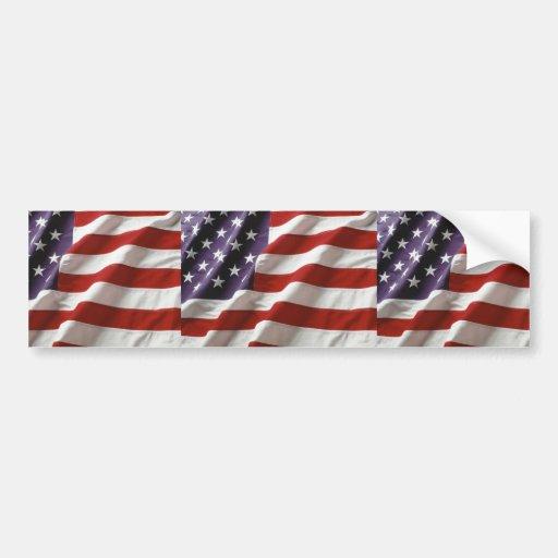 USA-FLAGGE AUTO AUFKLEBER