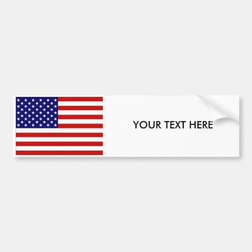 USA-FLAGGE Autoaufkleber
