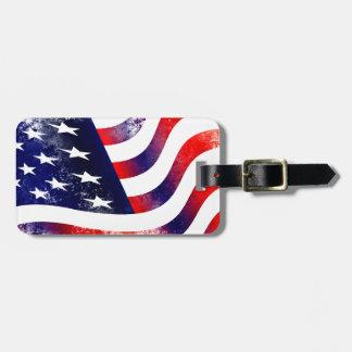 USA-FLAGGE GEPÄCKANHÄNGER