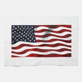 USA-Flagge Geschirrtuch
