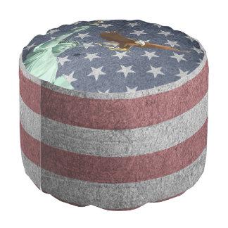 USA-Flagge Hocker