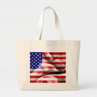 USA-Flagge Jumbo Stoffbeutel