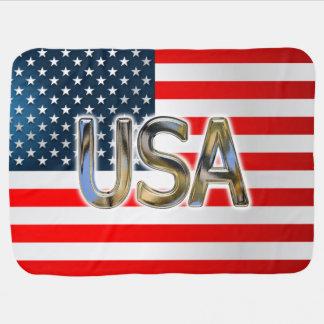 USA-Flagge Kinderwagendecke