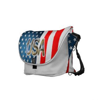 USA-Flagge Kurier Tasche