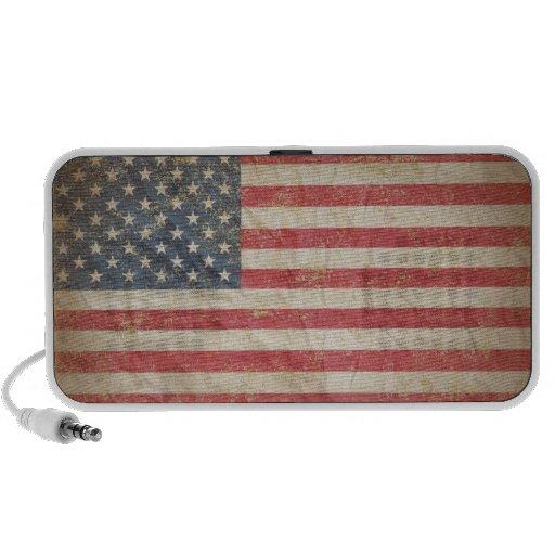 USA-Flagge Mobiler Speaker