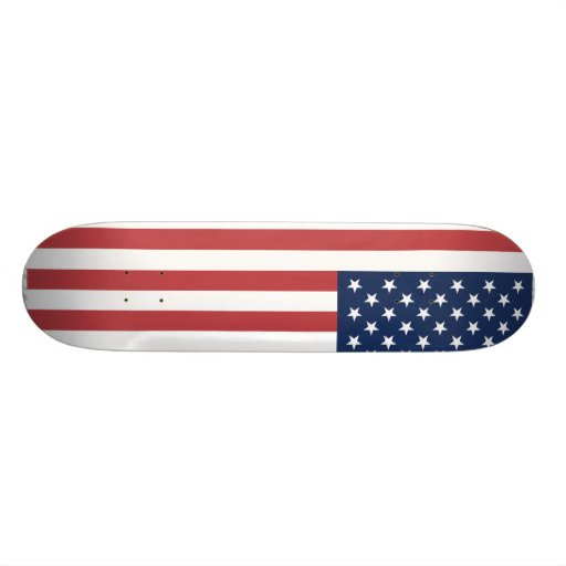USA-Flagge Personalisiertes Deck