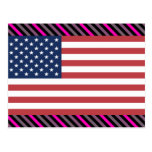 USA-Flagge Postkarten