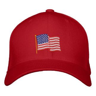 USA-Flagge RG Bestickte Kappe