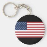 USA-Flagge Schlüsselbänder