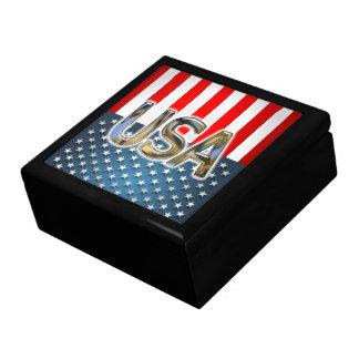 USA-Flagge Schmuckschachtel