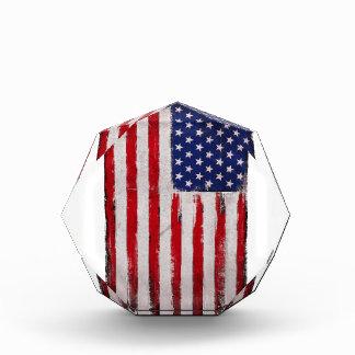 USA-Flagge Schmutz Auszeichnung